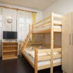 Pokój dla 5 osób z łóżiem piętrowym