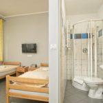 Pokój z łazienką dla 4 osób