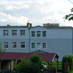 Fasada budynku Ośrodka Wojków